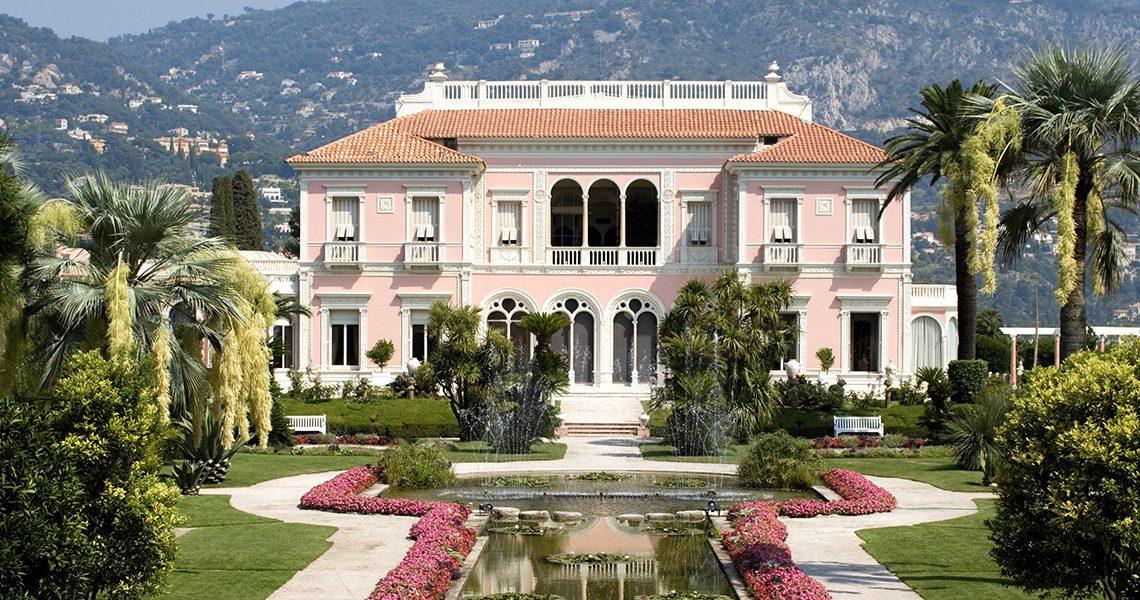 Villa Ephrussi de Rothschild, France. Photo courtesy of the Villa Ephrussi de Rothschild